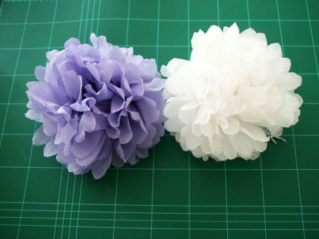 Les fleurs : résultat final - Les Ateliers de Mireia