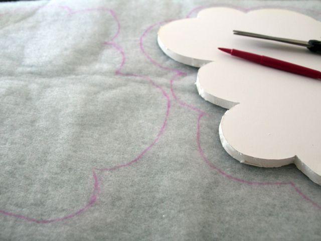 Le mobile : préparer la ouatine - Les Ateliers de Mireia