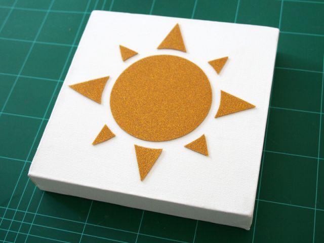 Le cadre soleil - Les Ateliers de Mireia