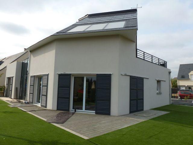 Vue d'ensemble maison finalisée - Saint-Gobain