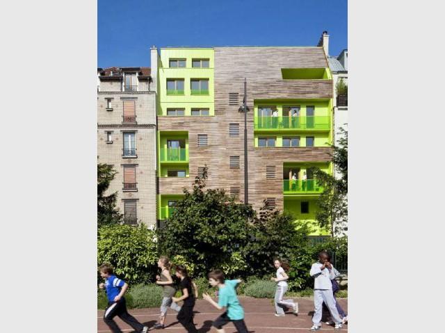 Des logements colorés