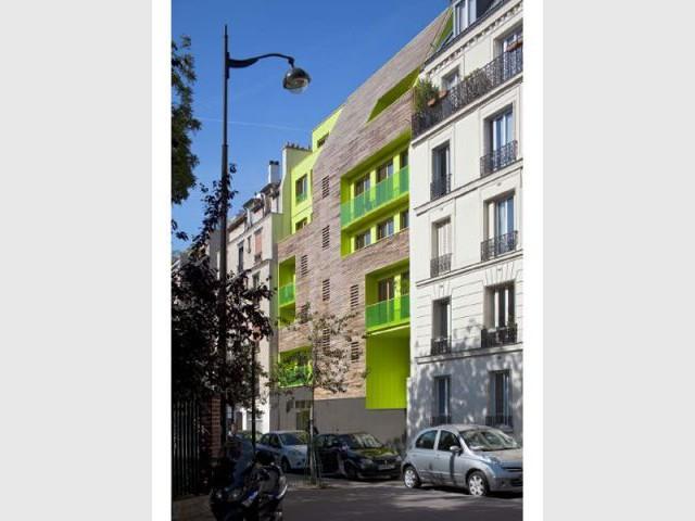 Façade - Des logements colorés