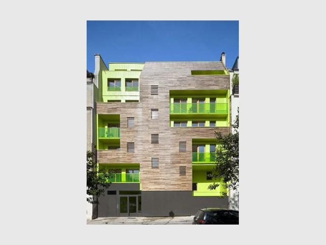 immeuble coloré