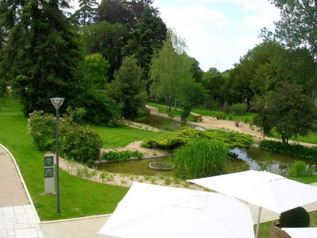 Jardin - Hôtel Château Belmont