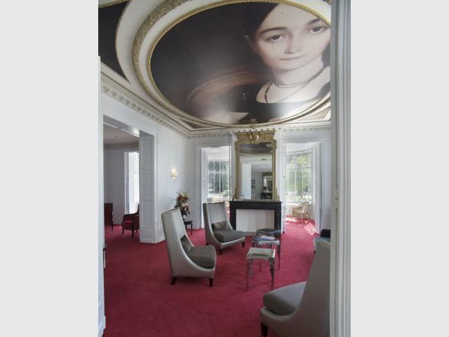 Salon - Hôtel Château Belmont