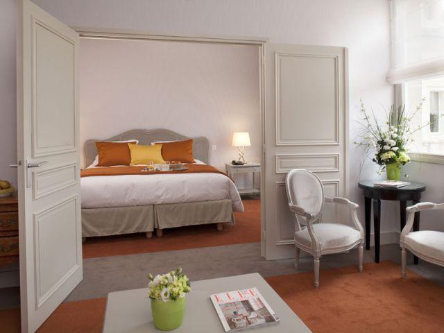 Aile ancienne - chambre - Hôtel Château Belmont