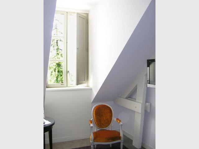 Aile ancienne - fenêtre - Hôtel Château Belmont