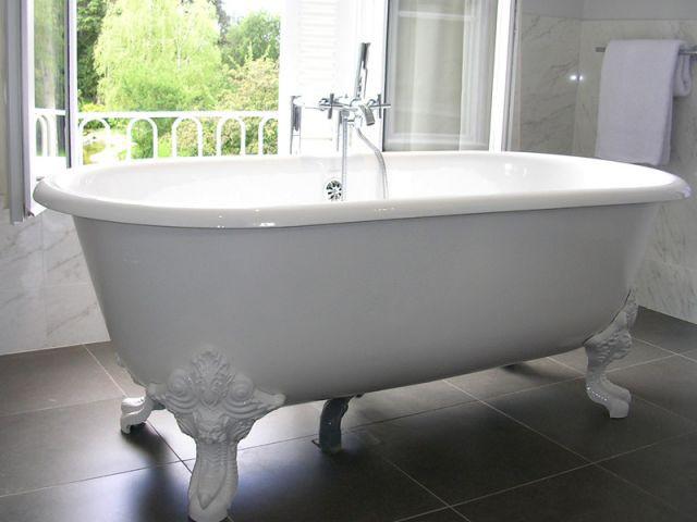 Salle de bains - Hôtel Château Belmont