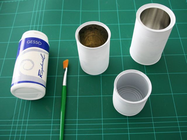 Centre de table : la préparation des boîtes - Les Ateliers de Mireia