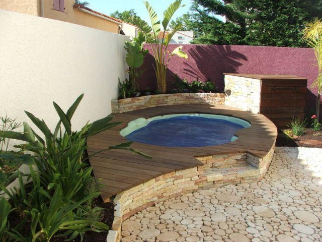 Un spa comme point de départ d'un projet paysager (suite) - Arcambal