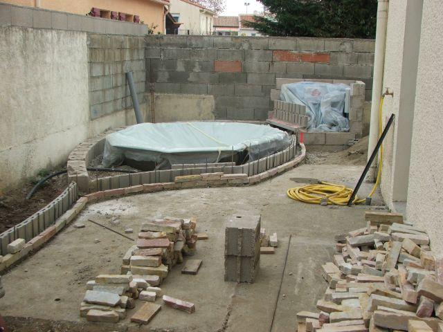Travaux : installation spa - Arcambal