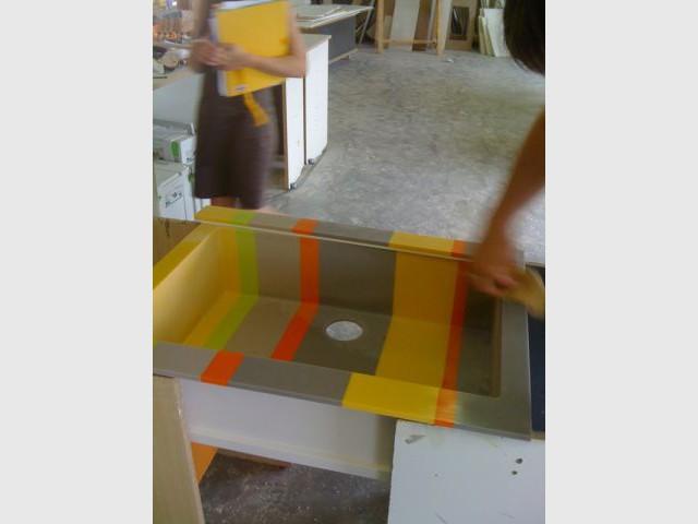 Fabrication - Cuisine Corian