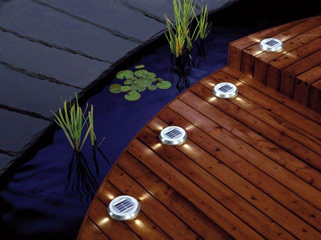Palets solaires - Luminaires jardin