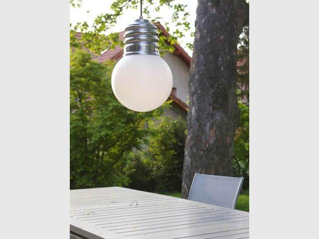 Suspension ampoule - Luminaires jardin