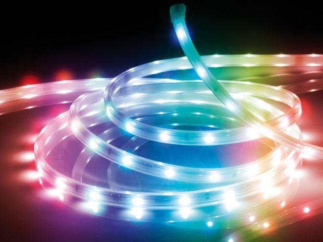 Guirlande multicolore Led - Luminaires jardin
