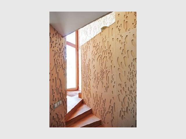 Détail escalier - maison