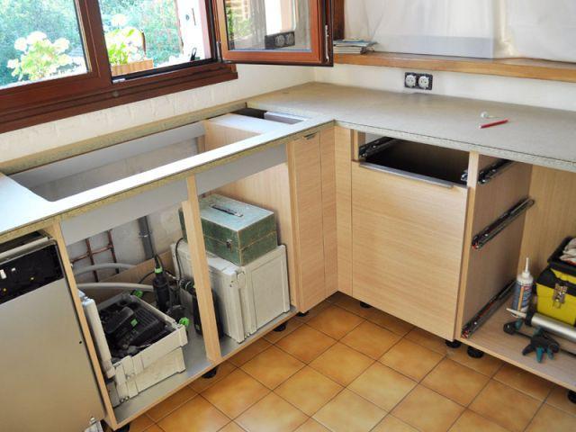 Espace optimisé - Avant/après cuisine Chahi