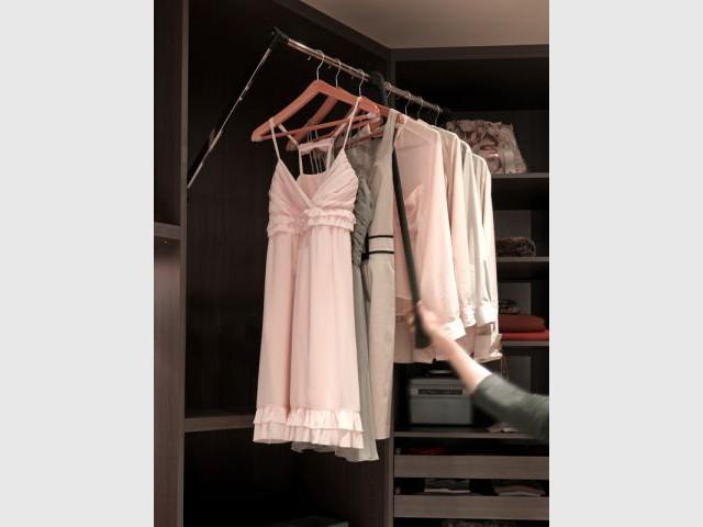 Les rangements et accessoires malins pour le dressing - Quadro