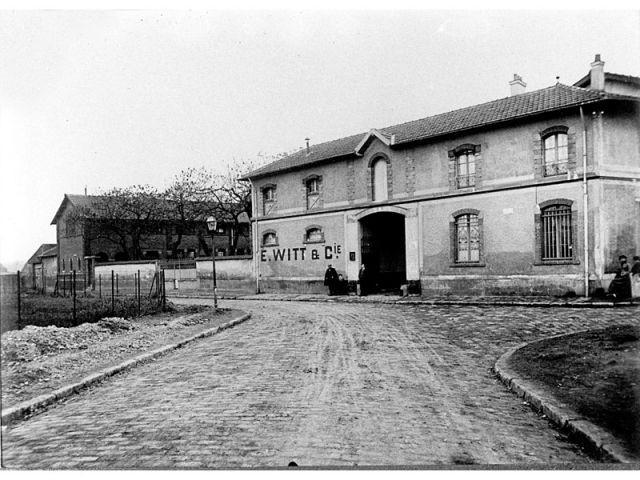 En 1908 - Les Cordes - La Courneuve
