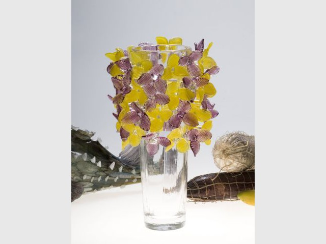 Borek Sipek - Vase fleuri - Borek Sipek Edition 2011