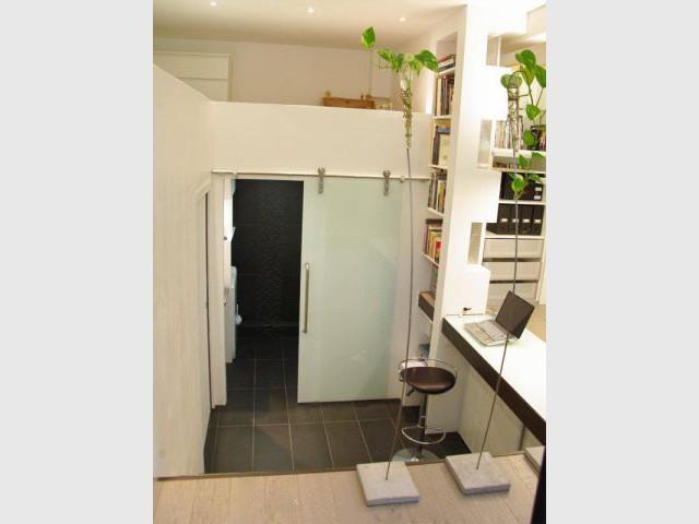 Accès salle de bains - Christelle Serres-Chabrier
