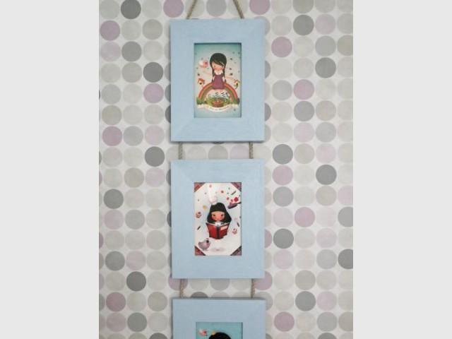Chambre de bébé - Papier peint - Reportage chambre enfant
