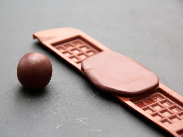 Les carrés de chocolat 1/2 - Les Ateliers de Mireia