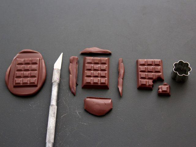 Les carrés de chocolat 2/2 - Les Ateliers de Mireia