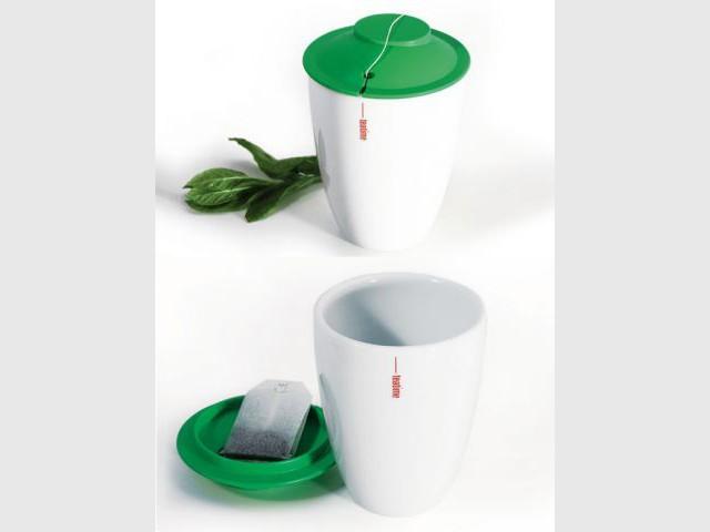 Autour du thé - Tasse et couvercle - Autour du thé