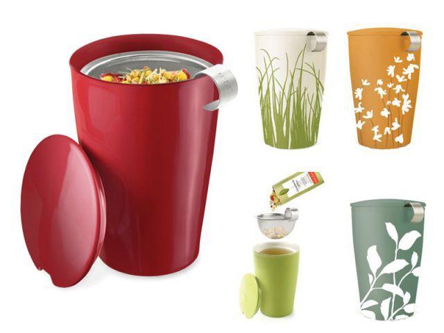 Autour du thé - Tasse et infuseur - Autour du thé