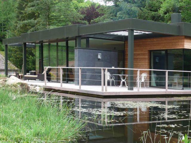 Maison sur le lac - Vue d'ensemble - Reportage Maison sur le lac