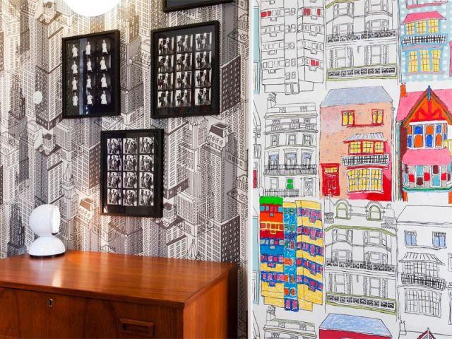 Papiers peints - Hôtel Le Crayon