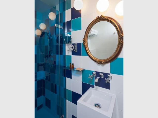 Salle de bains - Hôtel Le Crayon