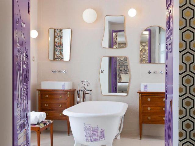 Suite - Salle de bains - Hôtel Le Crayon