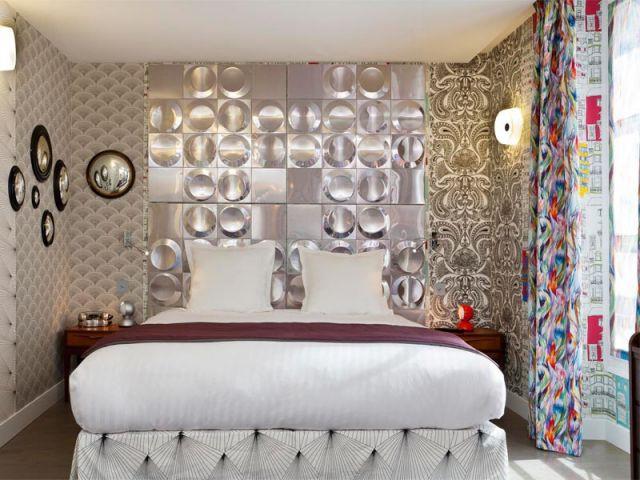 Un hôtel pensé comme une toile colorée (suite) - Hôtel Le Crayon
