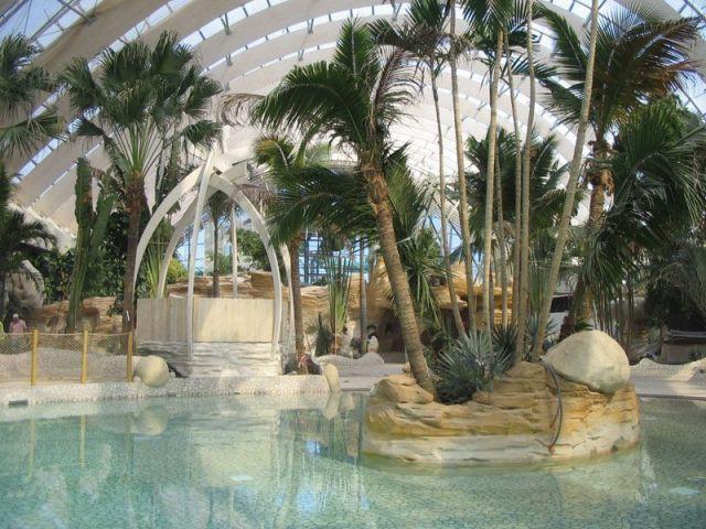 Serre et Aqua Mundo de Center Parcs à Hattigny (57