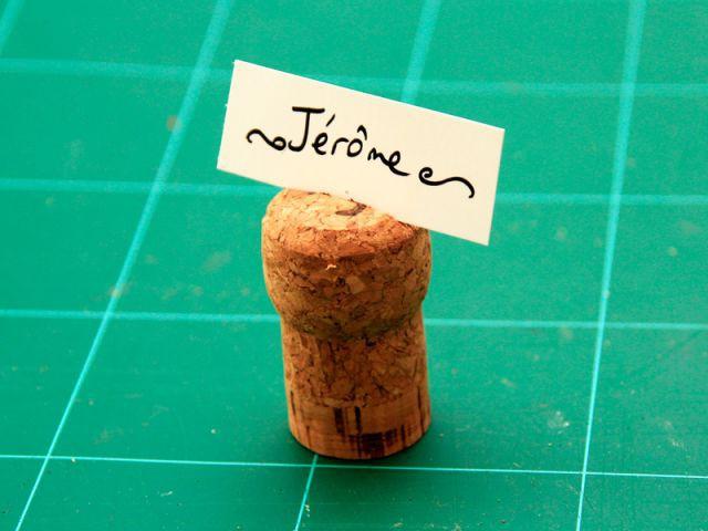 Le marque-place 4/4 (variante) - Les Ateliers de Mireia