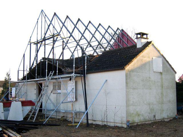 Surélévation - Avant/après rénovation Thermorenov