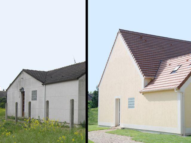 Avant/après rénovation Thermorenov