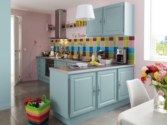 Ambiance colorée - 10 cuisines, 10 ambiances