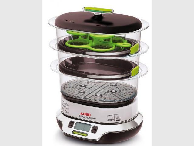 Cuiseur vapeur multifonctions - Cuisine trop petite