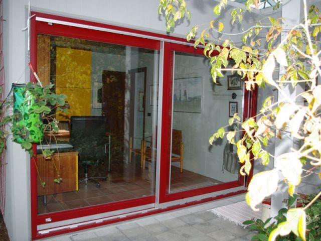 Bureau - Vue extérieure - Reportage maison verrière