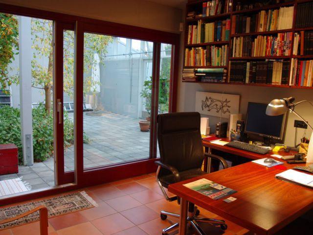 Bureau - Vue intérieure - Reportage maison verrière