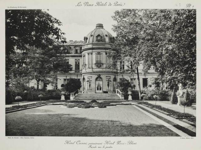 Hôtels particuliers parisiens - Hôtel de Cassini - Exposition Hôtels particuliers parisiens