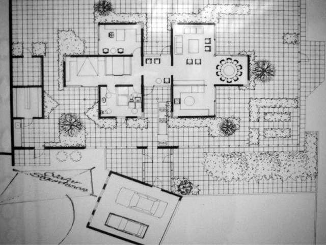 Plan maison - Reportage maison verrière