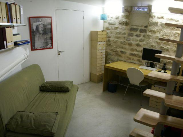 Vue générale cave - Agence Rew