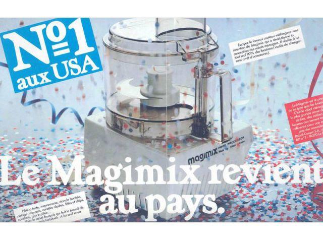 Le robot culinaire multifonction fête ses 40 ans (suite) - Magimix