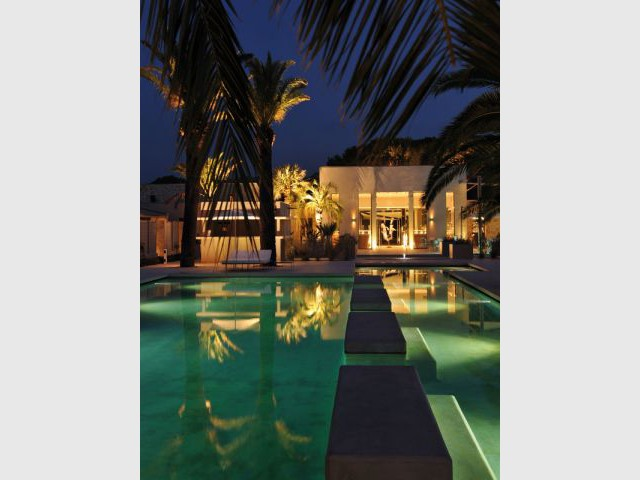 Hôtel Sezz Saint-Tropez - Vue de nuit - Hôtel Sezz Saint-Tropez