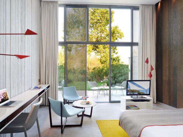Des meubles simples et raffinés - Hôtel Sezz Saint-Tropez