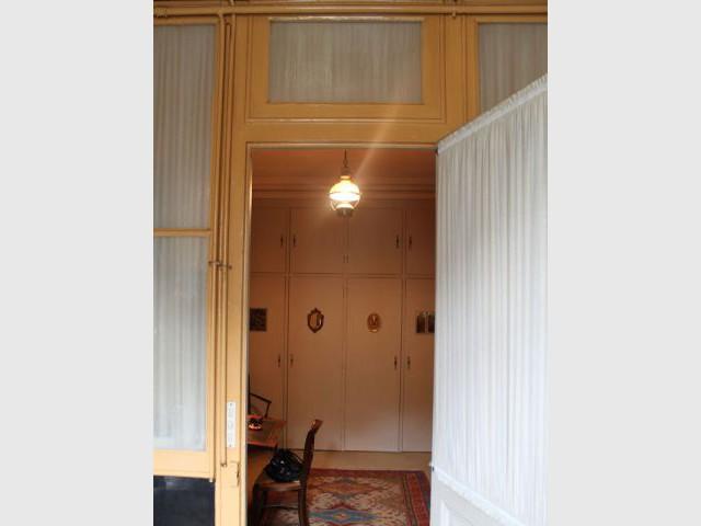 Entrée avant - Vue depuis le salon - Feld Architecture
